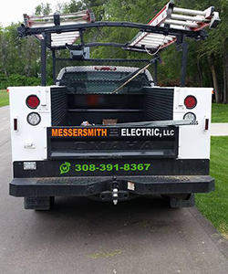 Messersmith Electric truck rear